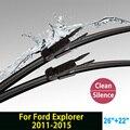 "Escovas para Ford Explorer (2011-2015) 26 ""+ 22"" fit pinch tab tipo limpador braços só HY-017"