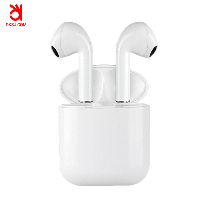 OKSJ i9P TWS Bluetooth Earbuds Wireless earphones Headsets Stereo With Charging Box sport earphone Bluetooth V5.0