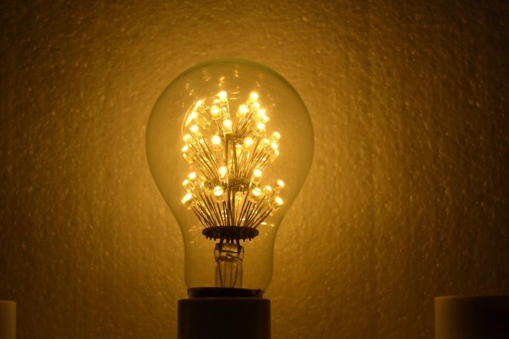 Aliexpress.com : Buy Antique Retro Vintage Edison Light Bulb E27 220V 3W Incandescent  Light Bulbs ST64 A19 G95 led