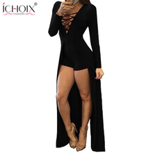 Women Clothing Sexy Dresses Red V Neck Long Sleeve Slim Bodycon Bandage Dress Tight Party Dresses