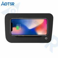 Aotsr Wireless car charger for Toyota RAV4 2016 2017 Intelligent Infrared Fast Wirless Charging Car for Phone/Sumsang/Nokia
