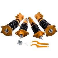 Coilovers kitleri için HONDA CR-V 2007-2011 2.4L Adj. Damper şok emiciler amortisörler EXL spor programı 4-Door 2009 2.4L Adj damperi