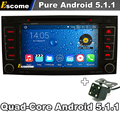 Pure Android 5.1 Car DVD for  Volkswagen VW Touareg T5 Transporter Multivan Capacitive Radio 3G wifi GPS Navi Rear View Camera