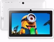 7 Pulgadas Moda Android 4.4 Tabletas pc Quad Core de Doble Cámara WiFi Bluetooth Mini Pad Tab pc 1 GB + 16 GB 7 8 9 10 10.1 unid tablet