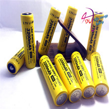 3PCS New Original 18650 3.7 v 3200 mah Lithium Rechargeable Battery NCR18650B For Flashlight/Laptop batteries