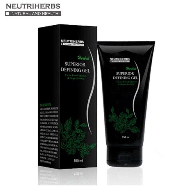 150 ml/pc corpo Herbal definindo Gel magro corpo mole definindo Gel funciona para Tone aperte Firm melhores cosméticos 5 pcs
