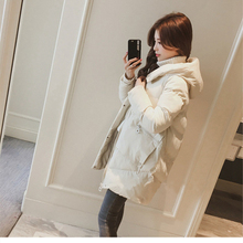 Winter Women Hooded Parka Warm Cotton Jacket Outerwear Loose Winter Jacket Coat