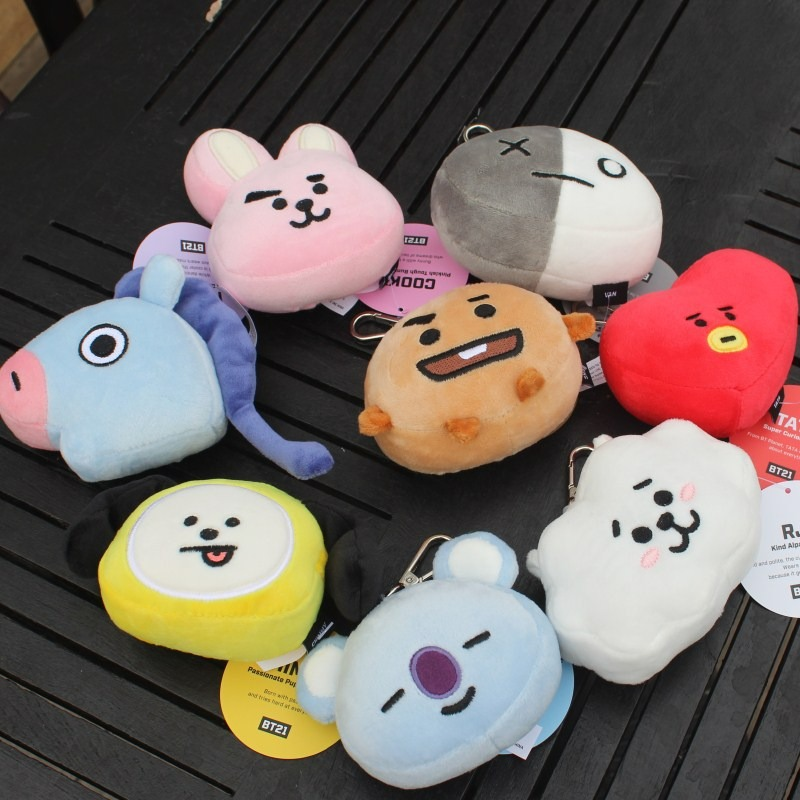 Toys & Hobbies New Birthday Presents K Pop Bts Bangtan Boys Korean Stylekawaii Dolls Plush Stuffed Soft Gift Bts Toys Cushion Cute Bt21 Warm