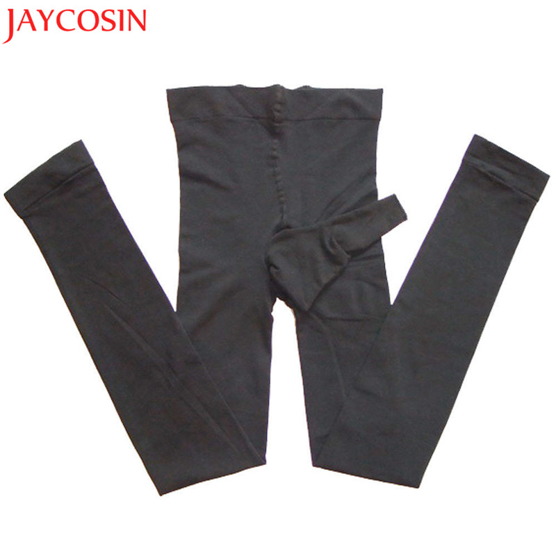 Sexy Men Autumn Underpants Male Thermo Long Mens Footless Pantyhose Nylon Tights Leggings Underwear Pants Trousers Pajamas OC19A