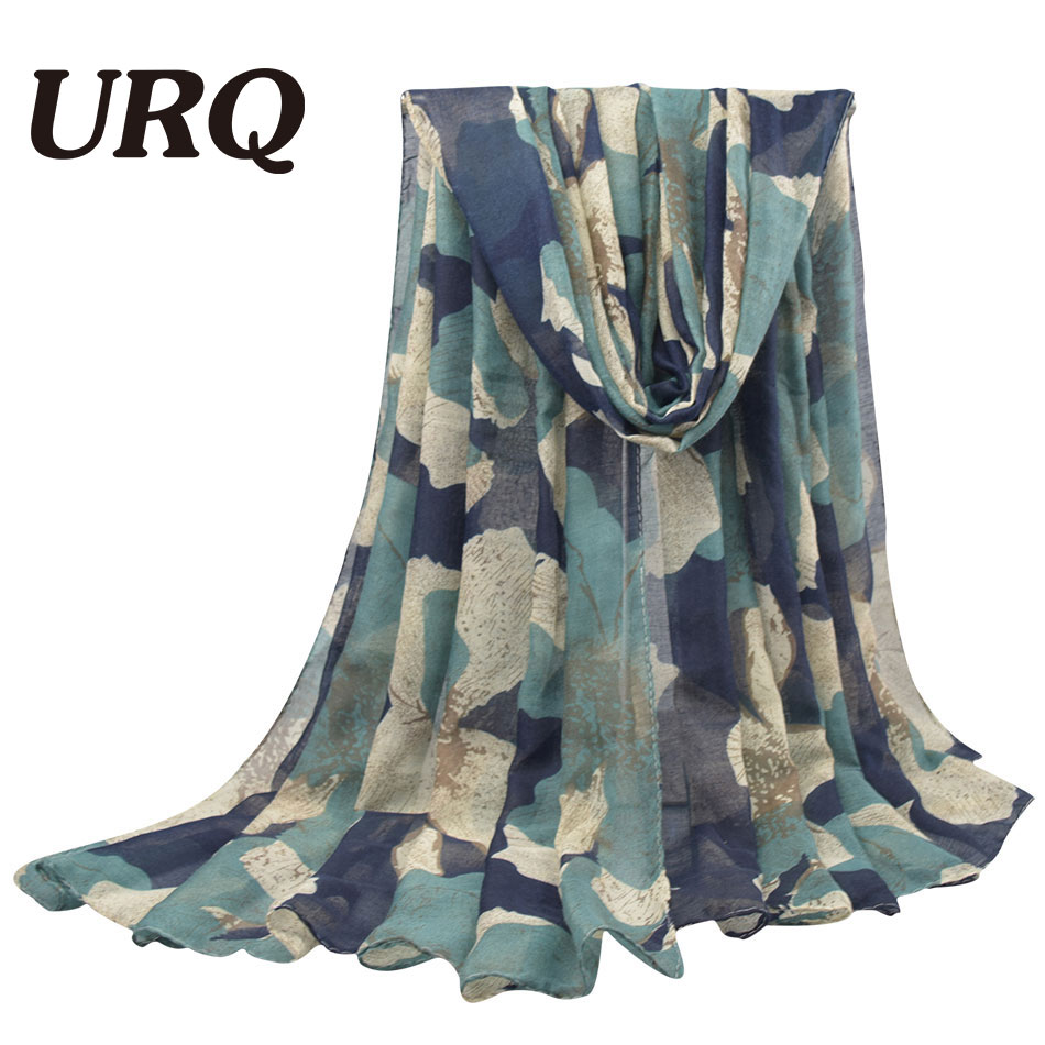 100*180cm Large Size Fashion Winter Hot Sale Flower Print Women Long Cotton Viscose Scarfs V10A18163