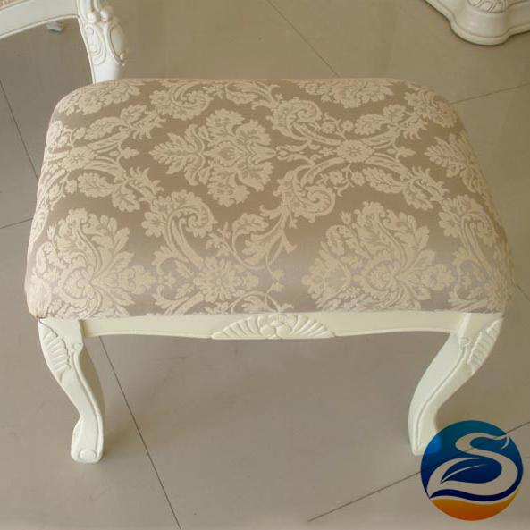 Dressing stool  White wood stools A variety of options