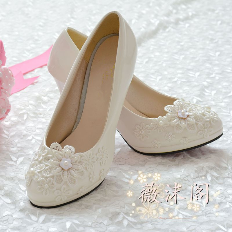 pearl wedding shoes aliexpress buy shoes high heels wedding shoes 6428