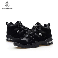 NIDENGBAO New Lovers Casual Shoes Men Keep Warm Winter Snow Shoes Flat Mesh Shoes Footwear Large size 39 44 Walking Sneakers