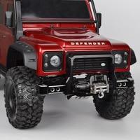 RC 1/10 Metal TRX4 Front/Rear Bumper for 1/10 RC Crawler Car Traxxas TRX 4 TRX4 Accessories Upgrade Parts