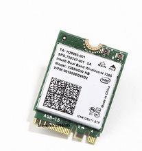 SSEA New For Intel Dual band Wireless-N 7265 7265NGW NB WiFi + Bluetooth 4.0 NGFF card SPS 756747-001