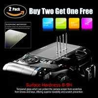2 pièces D'origine 9 H Caméra LCD En Verre Trempé Protecteur D'écran Pour Sony A7M3 A7R3 A7MIII A7R2 A7M2 A7S2 A7 Mark II III Caméra Film