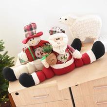 Large Size Christmas Doll Decorations Christmas Table Decorations Scene Decoration Christmas Gift Toy 60cm Flower vine Decor