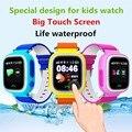 Crianças GPS Função Anti-perdida Smartwatch Telefone Tracker Real-time Local Remoto Monitor de Pedômetro SOS Intercom Certifique-se criança Segura