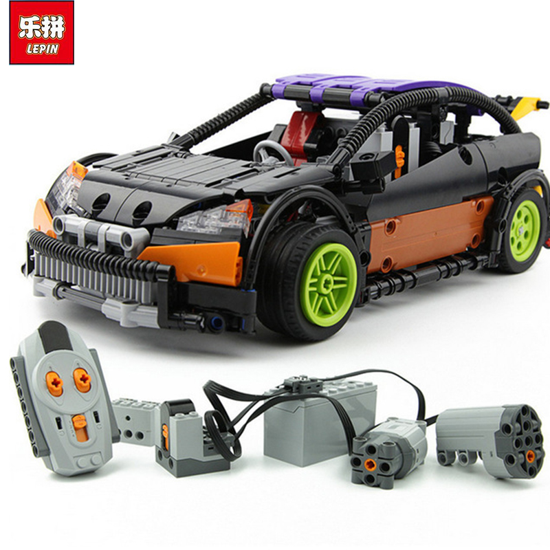 Lepin 20053 Genuine New Technic Series The Hatchback Type R Set Building Blocks Bricks Educational Toys Boy Gifts Model 7inch 45w led cannon lights round spot driving spotlight work lamp with focused beam for suv 4wd off road truck suv atv offroad