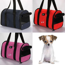 Portable Pet Dog Cat Travel Carrier Case Cage Tent Kennel Bag Crate Size S M L