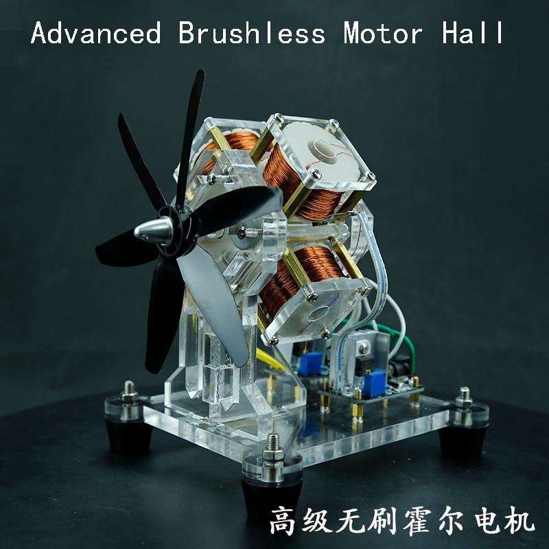 Brushless Hall Motors, Blades Micro Motors, DIY Creative Gifts 030 micro motors 2 pcs