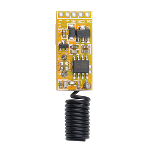 Image 2 - kebidu Relay Wireless Switch Remote Control Adjustable Micro Receiver Power LED Lamp Controller Momentary Toggle Latched Newest