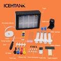 ICEHTANK СНПЧ набор чернильных картриджей для HP 56 57 Deskjet 2100 220 450 5510 5550 5552 7150 Система непрерывной подачи чернил