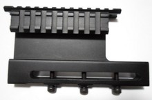 AK47 Weaver Rail mount Side mirror bridge, multi-track type