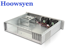 Mining case eth for BTC LTC 2U380 long custom chassis power supply ATX hot plug short cabinet for monitoring the host shell