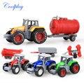 Coolplay vehículo Agrícola tractor de juguete coche de ingeniería de Aleación modelo de coche modelo de Día del niño boy toy regalos de Navidad N06