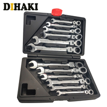 12pc Multitool Key Universal wrench set Ratchet Spanners tool case fast repairs multi-function Wrenches tool set Car Repair Tool