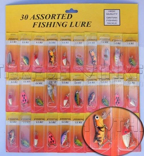 SALE!! MOQ:450pcs  Assorted Hardbaits Fishing Lures Crankbaits Small Mixed Order Yellow