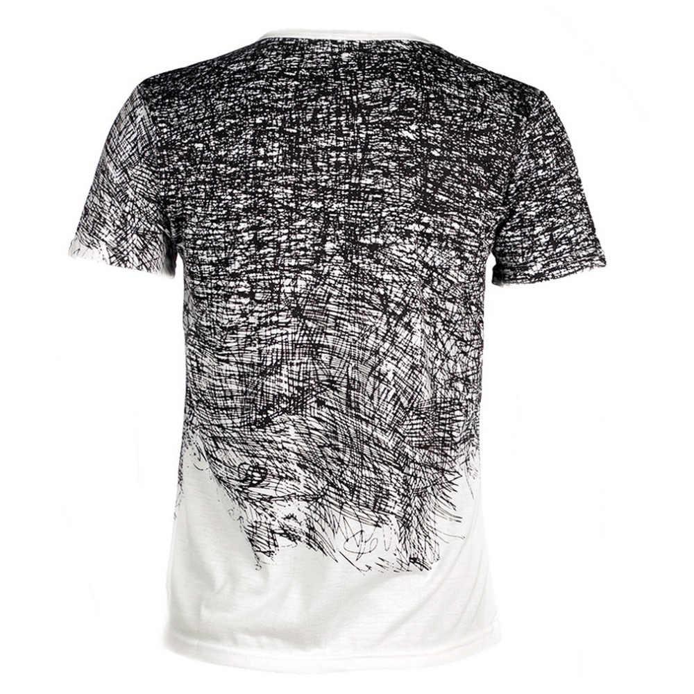 Uomo Maglietta Dei Vestiti di Estate Tee Shirt Camisetas Mens Cotone A Maniche Corte Camisa Masculina Uomo T Shirt per Dropshipping