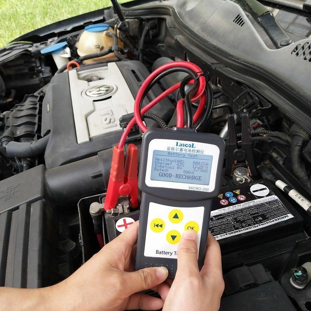 LANCOL MICRO-200 battery detector battery detector car battery life detectorLANCOL MICRO-200 battery detector battery detector car battery life detector