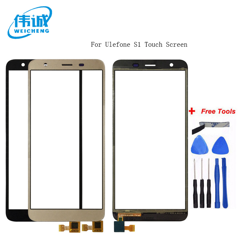 WEICHENG Top Quality For Ulefone S1 Touch Screen Lens Sensor Touch Panel Replacement Mobile Accessories +Tools