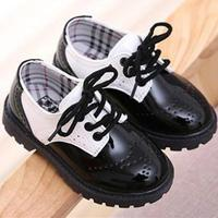 Toddler Girl Boots Children S Kids Patent Leather Boots Boys Single Princess Spring Autumn Chaussure Led
