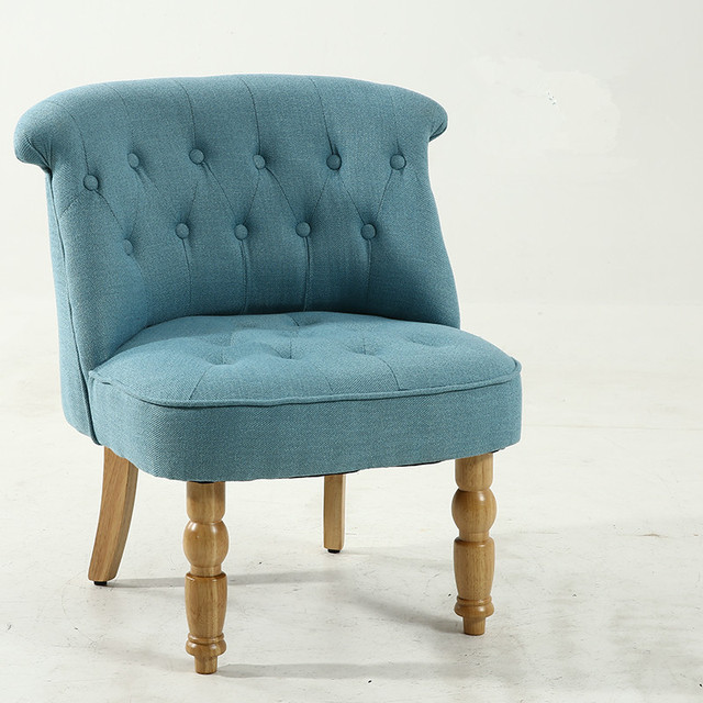 Casual Accent Chair with Button Tufts 6