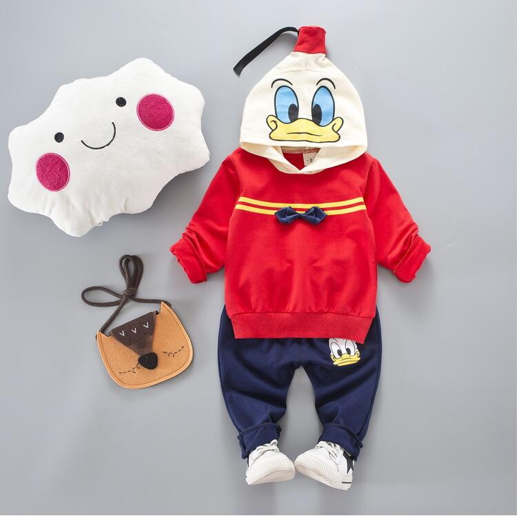 Children s Clothing 2017 Spring Autumn Baby Long - Sleeved Number 7 Costume Kids Suits Leisure Sports Boy/Girls Clothing Sets