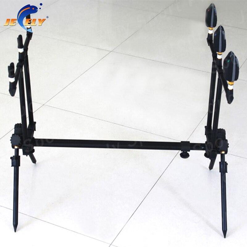 JY134 Европа Рынок хорошее качество Alumimum Карп Удочка Pod укус сигнализация Rod Pod ...
