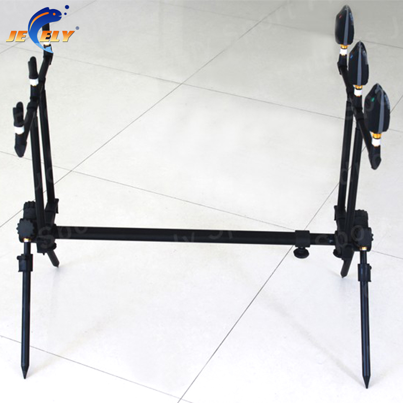 JY134 Europe Market Good Quality Alumimum Carp Fishing Rod Pod Bite alarm Rod Pod подставка hoxwell hl208 rod pod