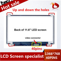 11 6 Laptop Screen LCD Display Panel For Acer Aspire One Chromebook Q1VZC Laptop 1366 768