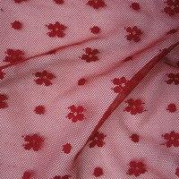 Sexy Flowers Classic Dot Perspective Long Dress Lace Fabric Shirt Mesh Fabric Soft Lingerie Dress Handmade