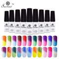 Saviland 1pcs 3D professional temperature change color uv gel nail polish chameleon changing color soak off nail art