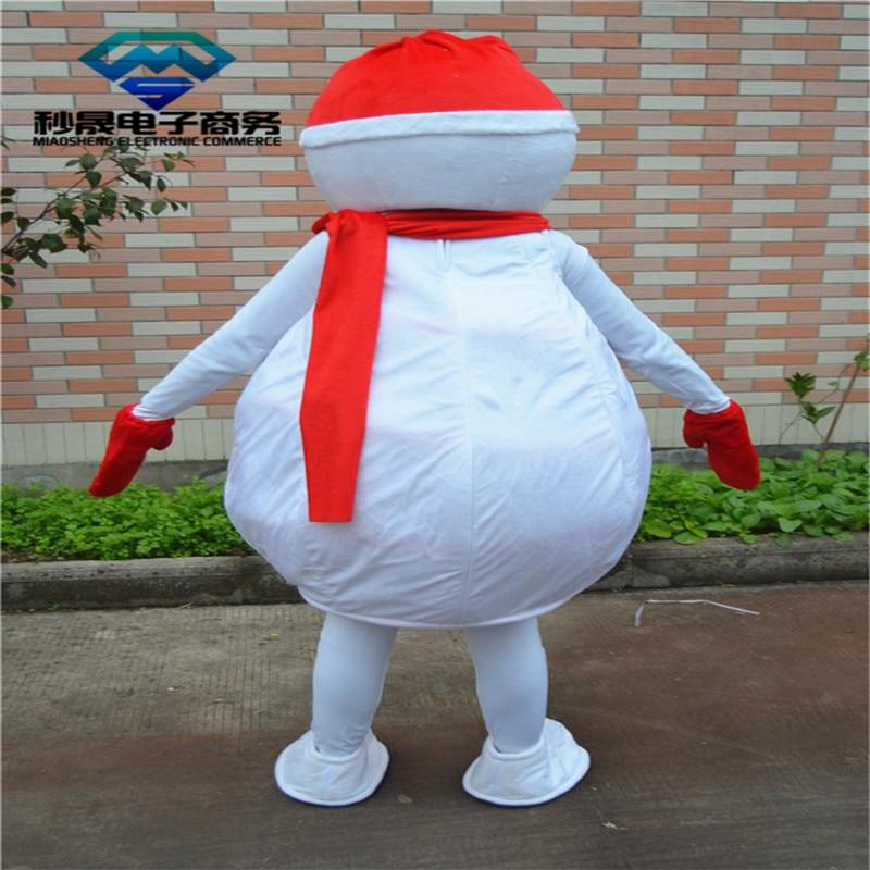 Sneeuwpop met rode hoed 3d effect foto bed linnen kan worden aangepast photo patroon - 4
