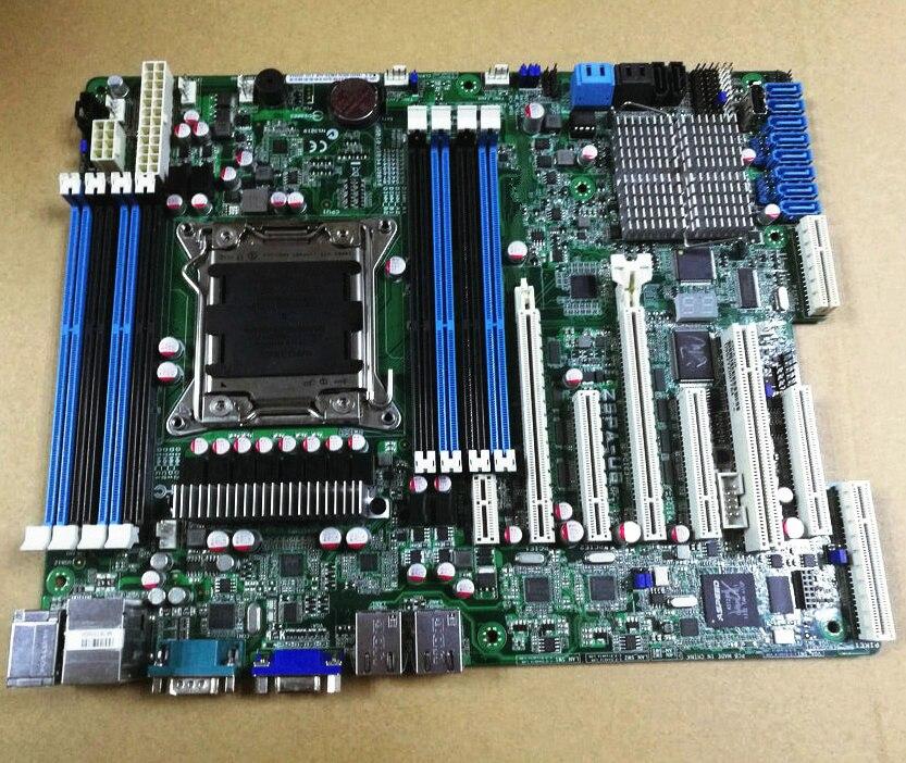 Convient Pour ASUS Z9PA-U8 LGA2011 DDR3 C602 ECC REG serveur carte mère X79 soutien E5 2670 2680