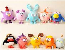 Ruso Smeshariki Kikoriki Muñecos de Dibujos Animados de Animales de Peluche Juguetes de Peluche de Juguete para niños de los Niños de Regalos