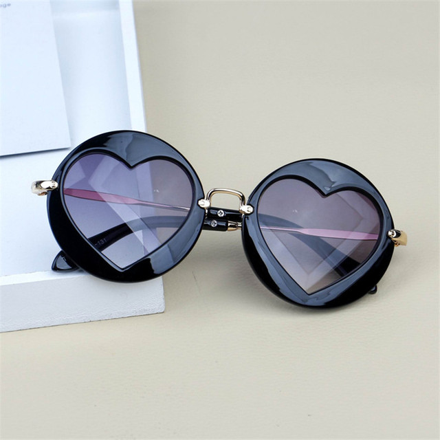 Metal Heart Kids Sunglasses 2