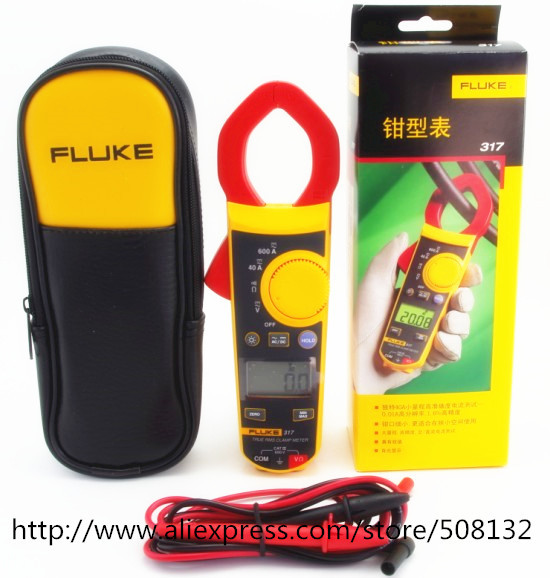FLUKE 317 Digital Clamp Meter Multimeter Brand New F317 400A 600A