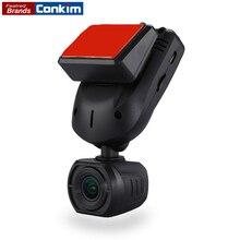 Conkim Новое поступление мини Q9 тире Камера Видеорегистраторы для автомобилей конденсатор 1296 P 1080 P Full HD Скрытая автомобиля Камера gps LDWS парковка режим + 32 ГБ TF
