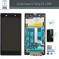 """5 """"Дюймовый ЖК-ДИСПЛЕЙ для Sony Xperia Z1 L39H C6903 ЖК-Дисплей С Сенсорным Экраном С Заменой Кадров В AAA + + + Класса"""